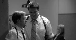 Tom Lenk and Nathan Fillion
