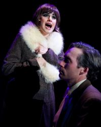Maria Rizzo as Sally Bowles and Bradley Foster Smith as Clifford Bradshaw