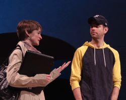 Rebecca Phillips (Clara Brandt) and Matt Baughman (Mike Clark)