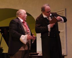 David Rampy (Anton Diabelli) and Elliott Bales (Beethoven)