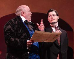 David Rampy (Anton Diabelli) and Ken Gaul (Anton Schindler)