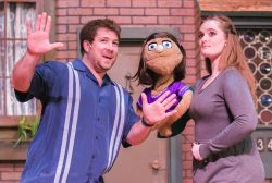 James Hotsko Jr., Kate Monster (puppet), and Kristina Hopkins