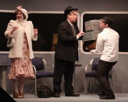 Heather Norcross (Anita Highland), Michael Gerwin (Dr. Grover Lockwood), and Ben Norcross (Porter)