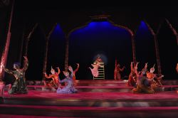 The cast perform the 'Small House of Uncle Thomas' Ballet