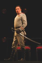 Patrick Page as Coriolanus