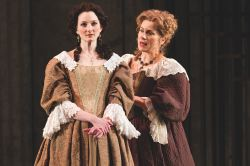 Aaryn Kopp as Thekla and Diane D'Aquila as Countess Czerny
