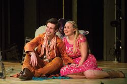 Todd Bartels as Florizel and Heather Wood as Perdita