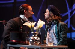 Joseph Carlson as Lord Henry and Robert Bowen Smith as Basil