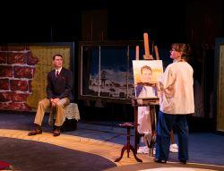 Jon Townson as Leander Nolan, Jennifer J. Hopkins as Marion Froude