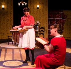 Cam Magee as Minnie, Jennifer J. Hopkins as Marion Froude