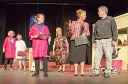 Tina Anderson (Carlene), Meg Hoover (Nita), Edye Smith (Sugar Lee), Janice Zucker (Crystal), Barbara Hayes (Bunny), Nick Matich (Bobby Dwayne)