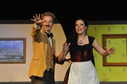 David Carter as Einstein, Annie Ermlick as Germaine
