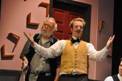 Joseph LeBlanc as Gaston and David Carter as Einstein