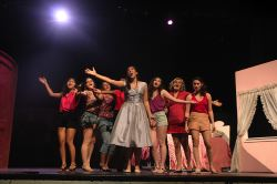 Samantha Chavez, Raquel Candon, Melanie Ewell, (cut off) Aalia Saib, Dominique Lopez-Piper, Shannon Nelson, Sofia Navas Sharry and Maria-Hela Galeano