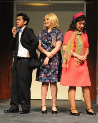 J. Pierpont, Smitty, and Rosemary (Joey Ledonio, Abby Giuseppe, and Angelica Miguel) discuss how it has 'Been a Long Day'
