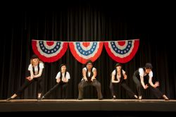 Steam Heat Dancers (Maddy Hopkins, Victoria Suttora, Tahana Augustin, Sara Cangarlu, Becca Rizkalla)