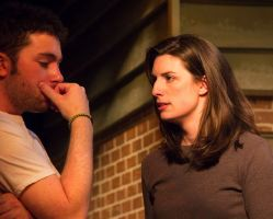 Josh Goldman (Hal) and Anna Fagan (Catherine)