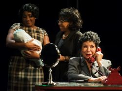 Roz White as Ella's cousin Georgiana, Wynonna Smith as Ella's younger sister Frances, and Freda Payne as Ella