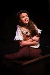 Little Cosette (Ella Schnoor) sings Castle on a Cloud