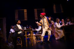 Thenardier (Chuck Dluhy) as Master of the House