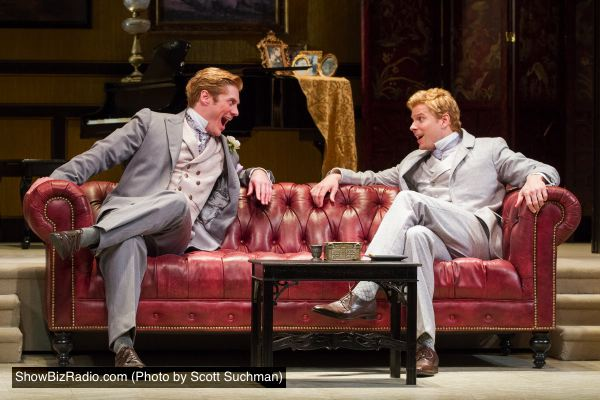 Gregory Wooddell as Jack and Anthony Roach as Algernon