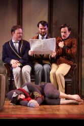 Tom Story as Jerome, Tim Getman as George, Rob Jansen as Harris and Alex Mills as Montmorency.