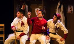 Jorge Silva as Sid, Joe Feldman as Roberto, Robby Priego as George