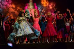 'You Can't Stop the Beat' from Wootton's Hairspray featuring Edna (Jeffrey Morse), Amber (Jackie Kempa), Velma (Meghan Wright) and Motormouth Maybelle (Aaliyah Dixon)