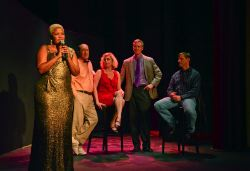 Rikki Howie Lacewell as Marrell; Matthew Randall as Alan; Shannon Benton as Jane; Allen McRae as Jean-Pierre; and Kevin Walker as Tom